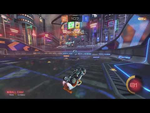 2V2 Rocket League! Orbiting Cars?!
