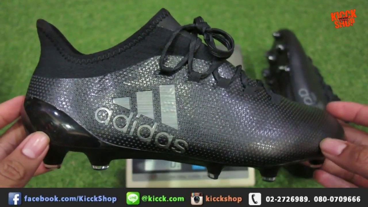 best service 61d28 8cc51 ... Unboxing adidas X17 1 FG Magnetic Storm Pack (Thai Version) ...