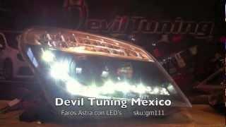 GM111 Faros Chevrolet Astra H Devil Tuning