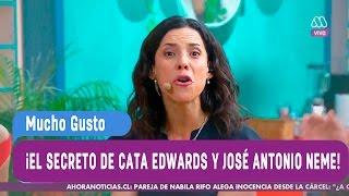 Los secretos de Catalina Edwards y José  Antonio Neme en comerciales - Mucho Gusto 2016