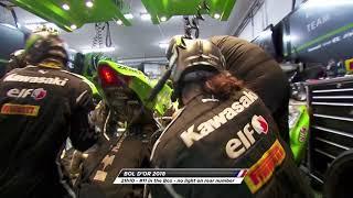 Bol d'Or 2018 - SRC Kawasaki France at work