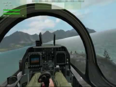 Harrier Vertical Landing ArmA Armed Assault