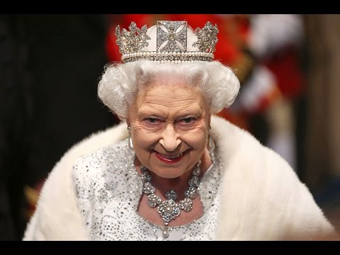 Новый прикол про королеву Великобритании