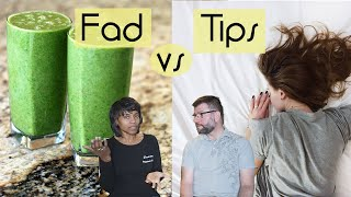 Fad Diets Vs Weight Loss Tips - Healthy Ketogenic Diet