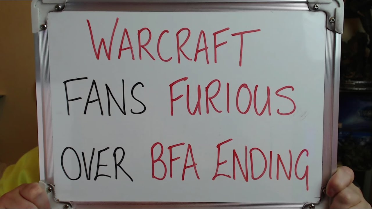 World of Warcraft Fans Disappointed/Underwhelmed/Furious About BFA ENDING!! thumbnail