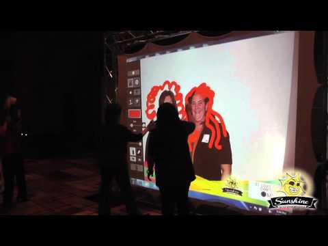 Virtual Graffiti Wall for Parties and Events in St. Louis - Sunshine Entertainment Group