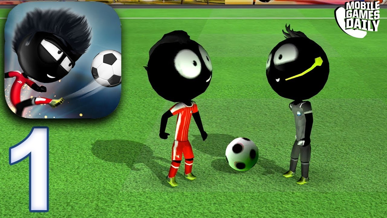 STICKMAN SOCCER 2018 - Gameplay Part 1 (iOS Android) - YouTube 1a15f1fc3854b