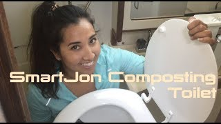 SmartJon Composting Toilet Unboxing - Alternative to marine head for boats