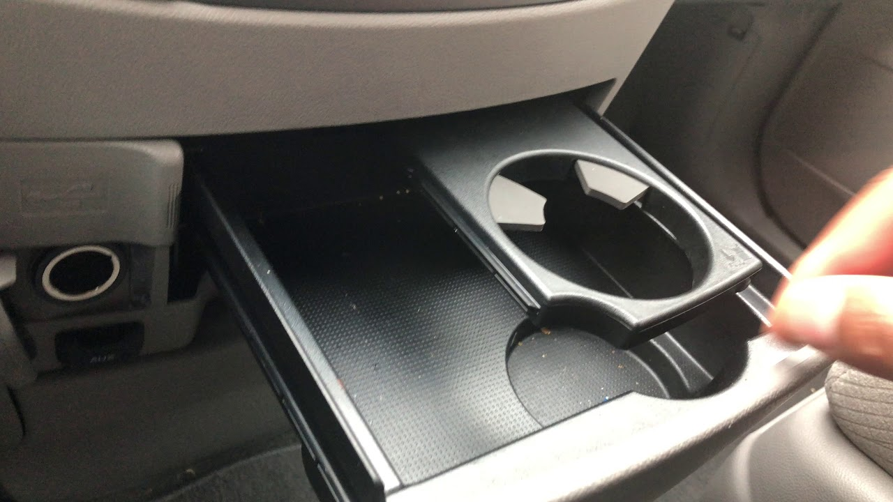 honda odyssey hidden compartments  cupholders youtube