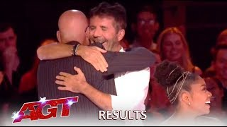 Simon Cowell SURPRISES Howie Mandel For 10 Years AGT Judging! | America's Got Talent 2019