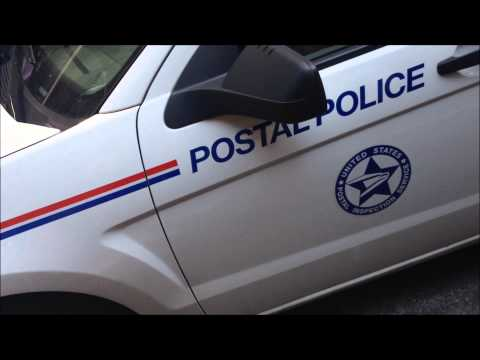 Rare United States Postal Police Car in Manhattan