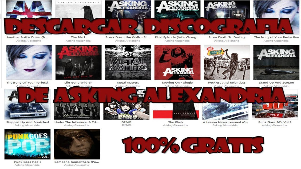 download asking alexandria discography