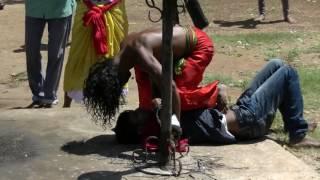 EXORCISMS IN MUNNESWARAM KALI TEMPLE, SRI LANKA. McD'AGO