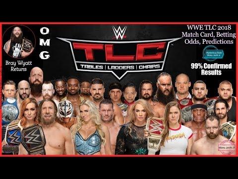 WWE TLC 2018 Date, Matches, Card, Predictions, Rumors | WWE TLC 2018 Betting Odds | WWE News Update