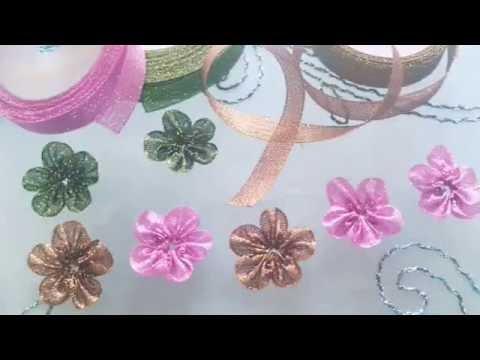 Jim Tutorial Membuat Bunga Sakura Jepang Dari Bahan Pita Praktis