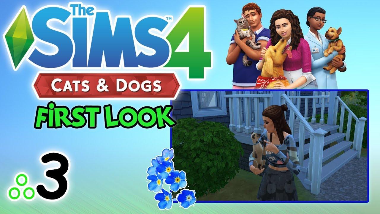 """First Look #77: The Sims 4: Psy i Koty odc. 3 – """"Kocie piosenki i psie spacerki"""" [PL]"""
