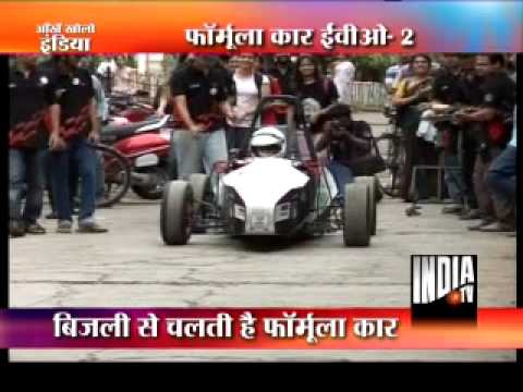 F1 car by IIT Bombay students to run in London streets !