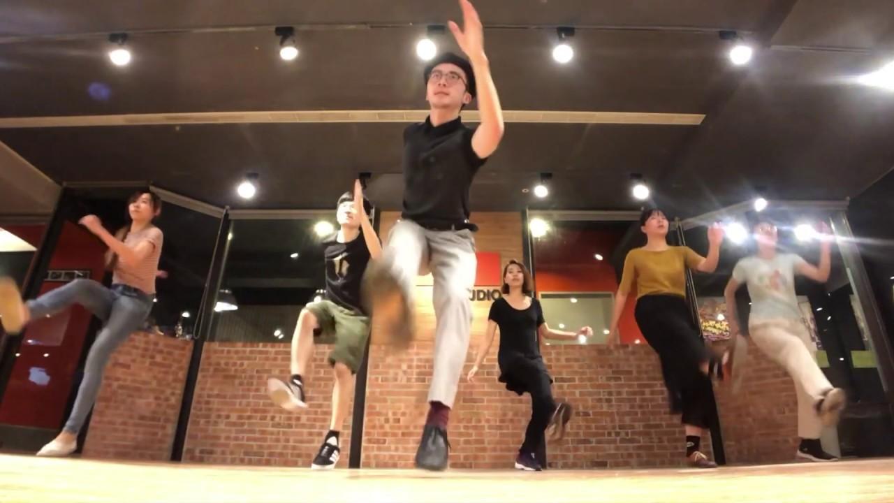 Willie Lin Solo Jazz Class Recap 20181121 單人搖擺舞 / Swing Dance / Charleston / Boog Studio - YouTube