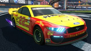 THE NEW NASCAR FORD MUSTANG IS INSANE!?    Playing With G2's Newest Member...   Rocket League 3V3