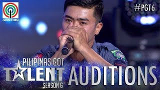 Pilipinas Got Talent 2018 Auditions: PO1 Aldrin Palaca - Beat Box