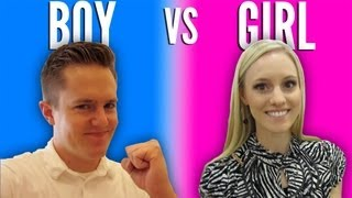 BOY VS GIRL | GENDER REVEAL!