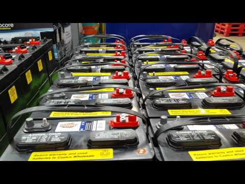 Costco Golf Cart Batteries For Solar Power Storage
