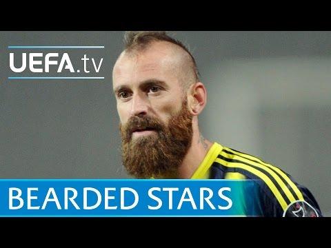 Meireles, Pirlo, Turan: 5 memorable beards