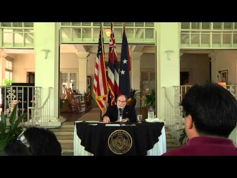 Governor Abercrombie Signs The Civil Union Bill - HD Version