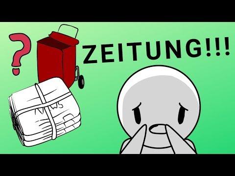 Wie geht Zeitung austragen? xD | Story Animation