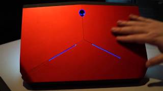 Hands-On with the OLED Alienware 13
