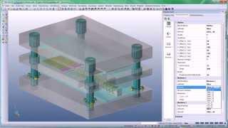 VISI Progress- Produktvideo ''Der Werkzeugaufbau mit Einbau von Normalien''