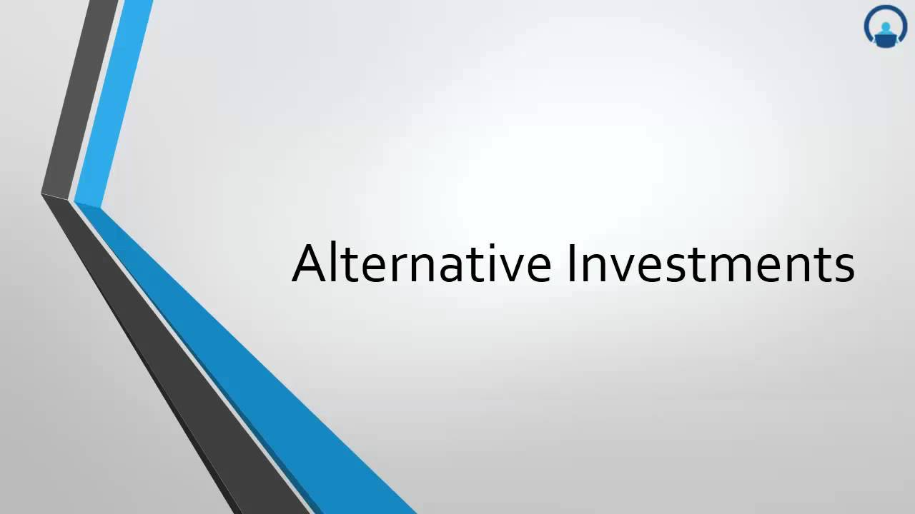 Your Cheat Sheet to... CFA Level I: Alternative Investments