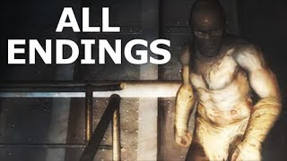 Cryostasis: Sleep Of Reason ALL ENDINGS - Walkthrough Gameplay (No Commentary) (Horror Game)