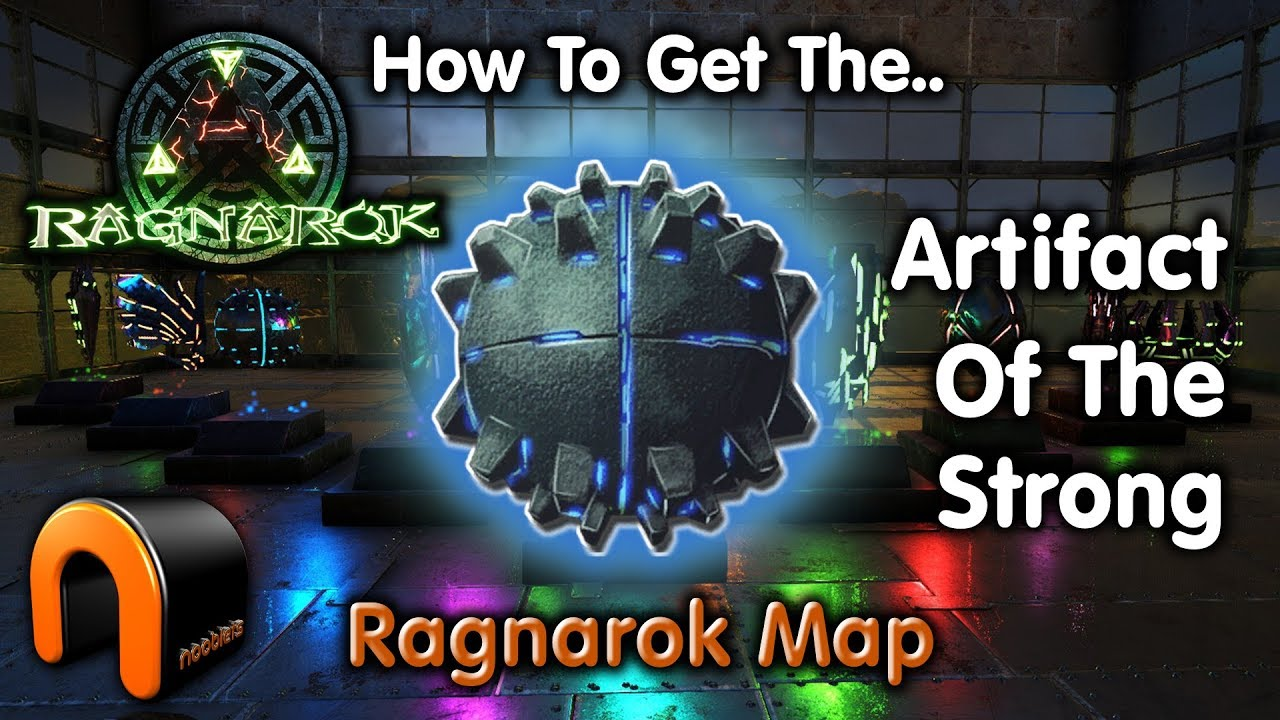 ARK ARTIFACT Of The STRONG Ragnarok Map
