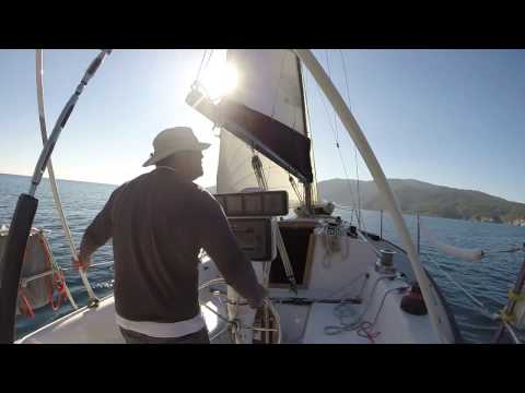 Sunny Sunday Single Handed Sailing Peterson 34