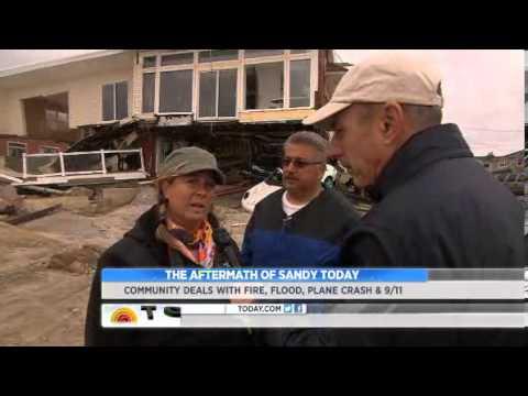 Today Show: Matt Lauer from Belle Harbor, Oct. 31, 2012