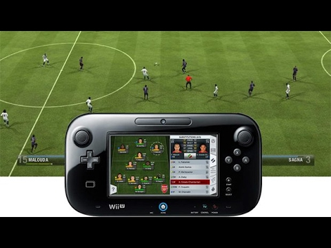 FIFA 13 Wii U Nintendo Gameplay (HD)