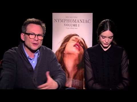 Christian Slater & Stacy Martin talk their fatherdaughter relationship in 'Nymphomaniac'