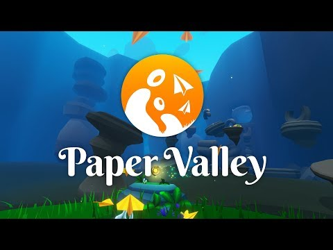 Paper Valley Mixed Reality Trailer 🌱 Out Now on Oculus Rift