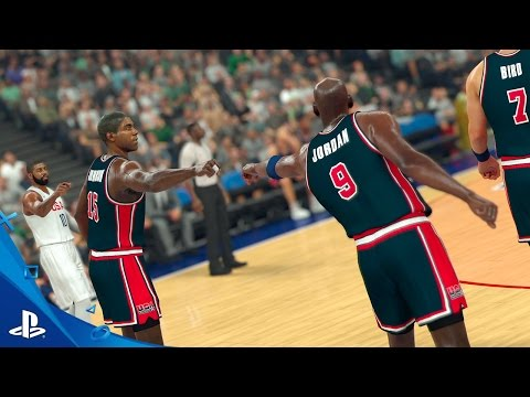 NBA 2K17 - The Dream Lives On Trailer | PS4