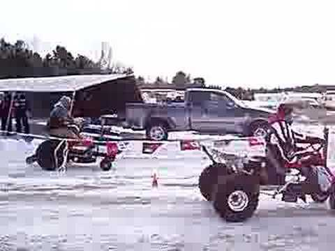 Lawn Mower Racing >> Lawn Mower Drag Racing - YouTube