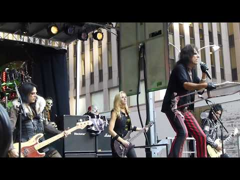 ALICE COOPER I'm Eighteen LIVE  Fox and Friends Manhattan, August 14, 2015