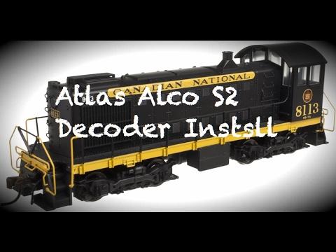 Atlas Alco S2 Decoder Install