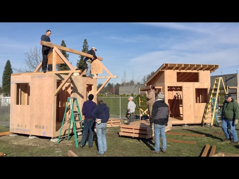 Great Homeless camp video, no rage just current working solutions. Tiny House
