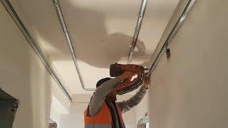 Alçıpan ustasından bir işçilik sanatı - Drywall - Suspended ceiling