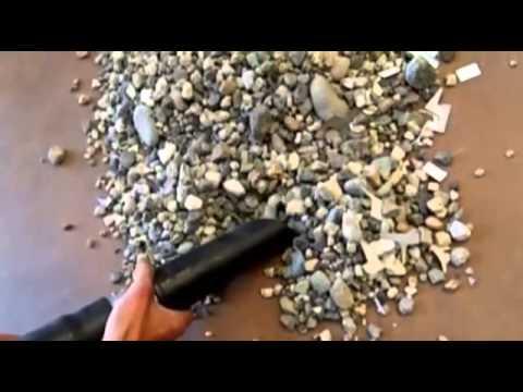 Промышленный строительный пылесос без мешка собирает КРУПНЫЕ камни? Это только  DELFIN п-во Италия