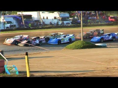 Late Model 3rd Heat 7-15-17 Oakshade Raceway