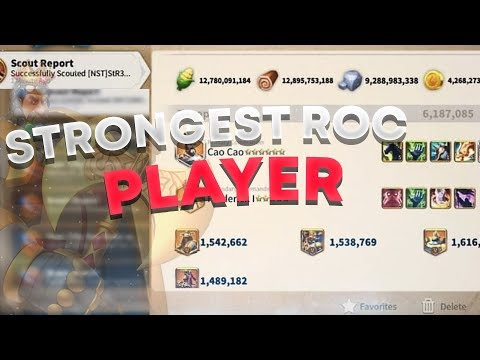 The Strongest Player In RoC (115,000,000 POWER!!!)  - Rise of Civilizations