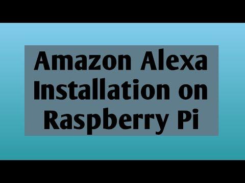 Amazon Alexa on Raspberry Pi 3