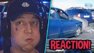 Reaction auf heftige Unfälle! 😱 Russisch mit Monte? 😂 | MontanaBlack Reaktion